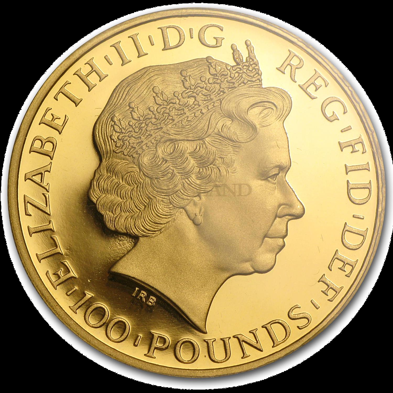 1 Unze Goldmünze Britannia 2011 PP PCGS PR-70 (DCAM, FS)