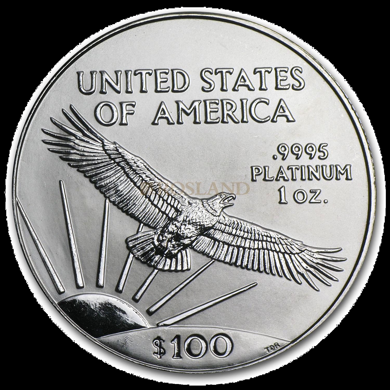 1 Unze Platinmünze American Eagle 2003