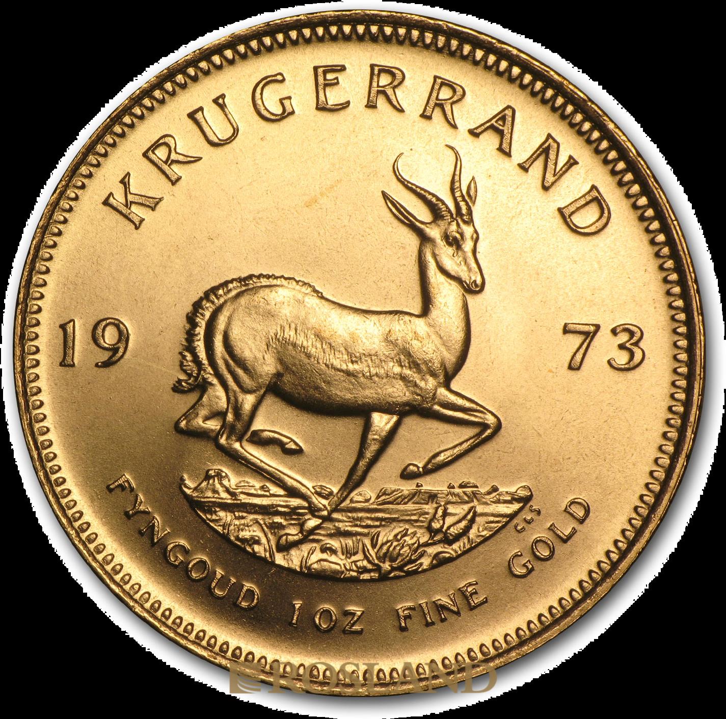 1 Unze Goldmünze Krügerrand 1973