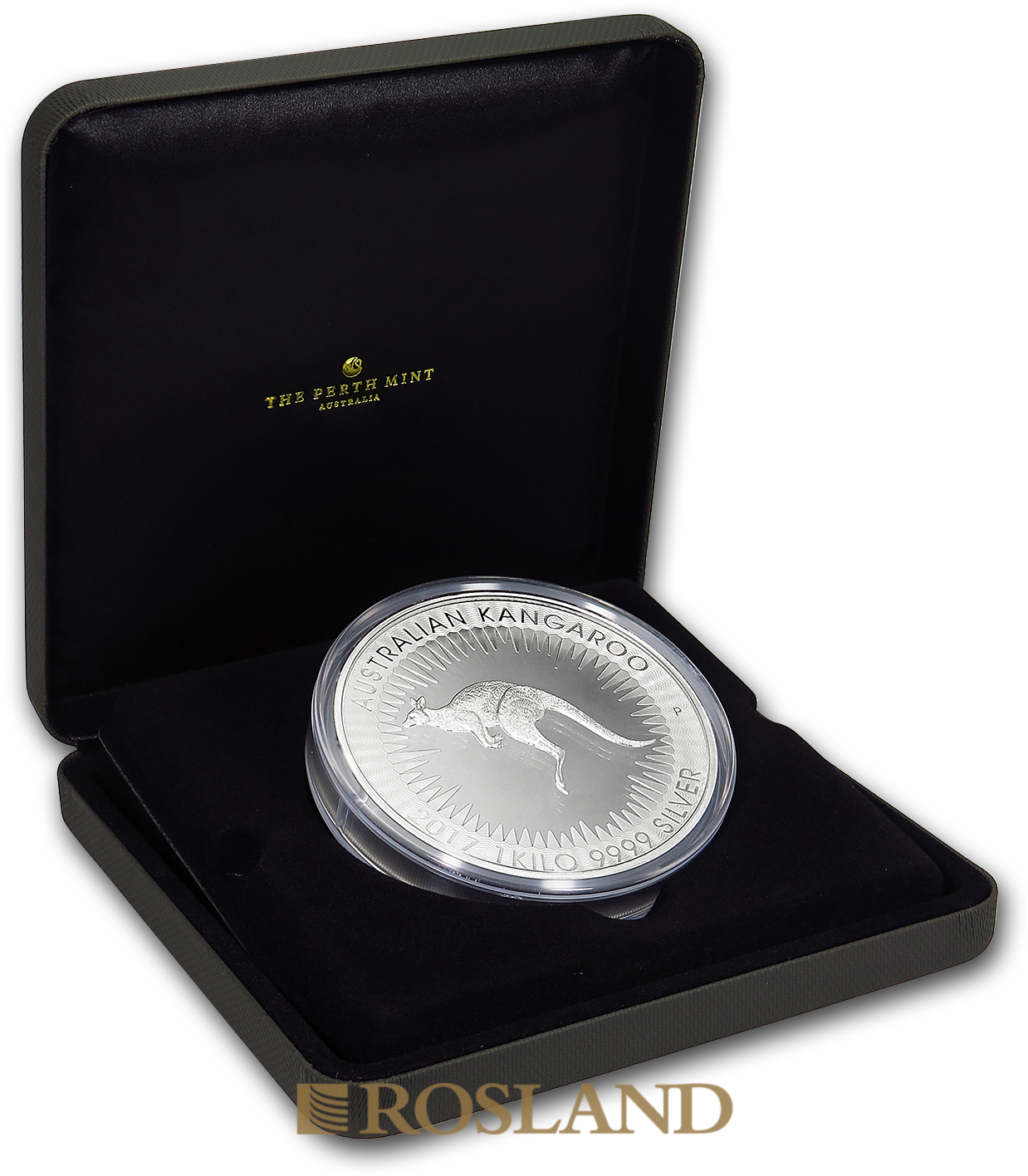 1 Kilogramm Silbermünze Australien Känguru 2017 PP (Box, Zertifikat)