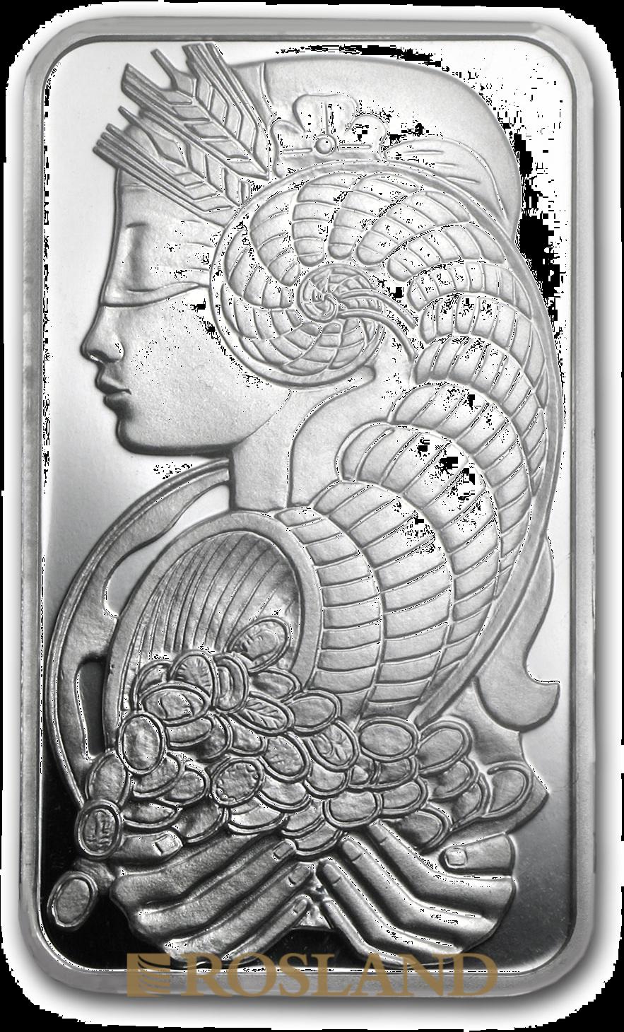 2,5 Gramm Silberbarren PAMP Lady Fortuna Veriscan®