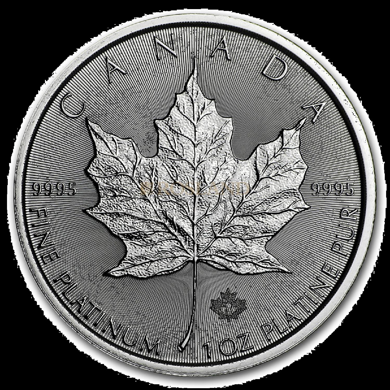 1 Unze Platinmünze Kanada Maple Leaf 2021