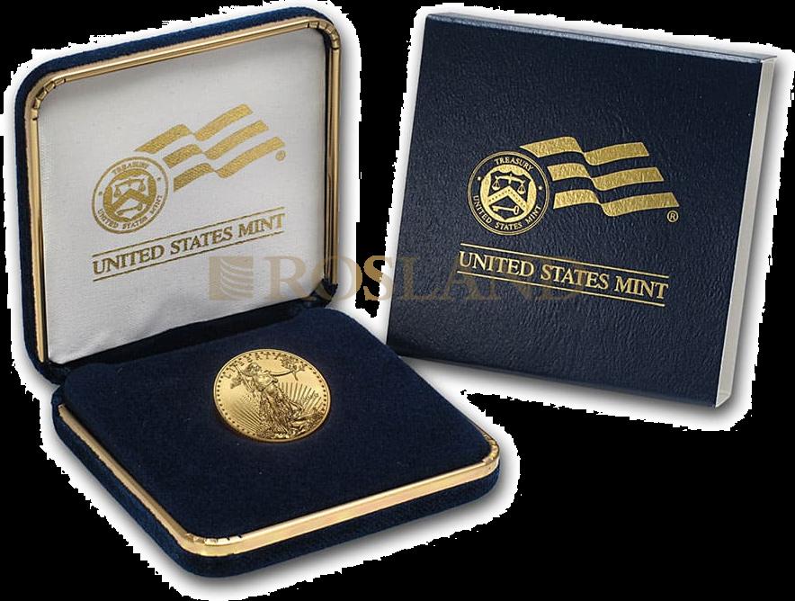 1/4 Unze Goldmünze American Eagle 2020 (Box)