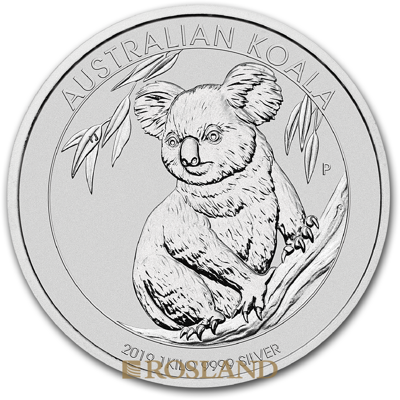 1 Kilogramm Silbermünze Koala 2019