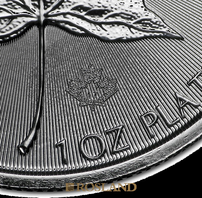 1 Unze Platinmünze Kanada Maple Leaf 2017