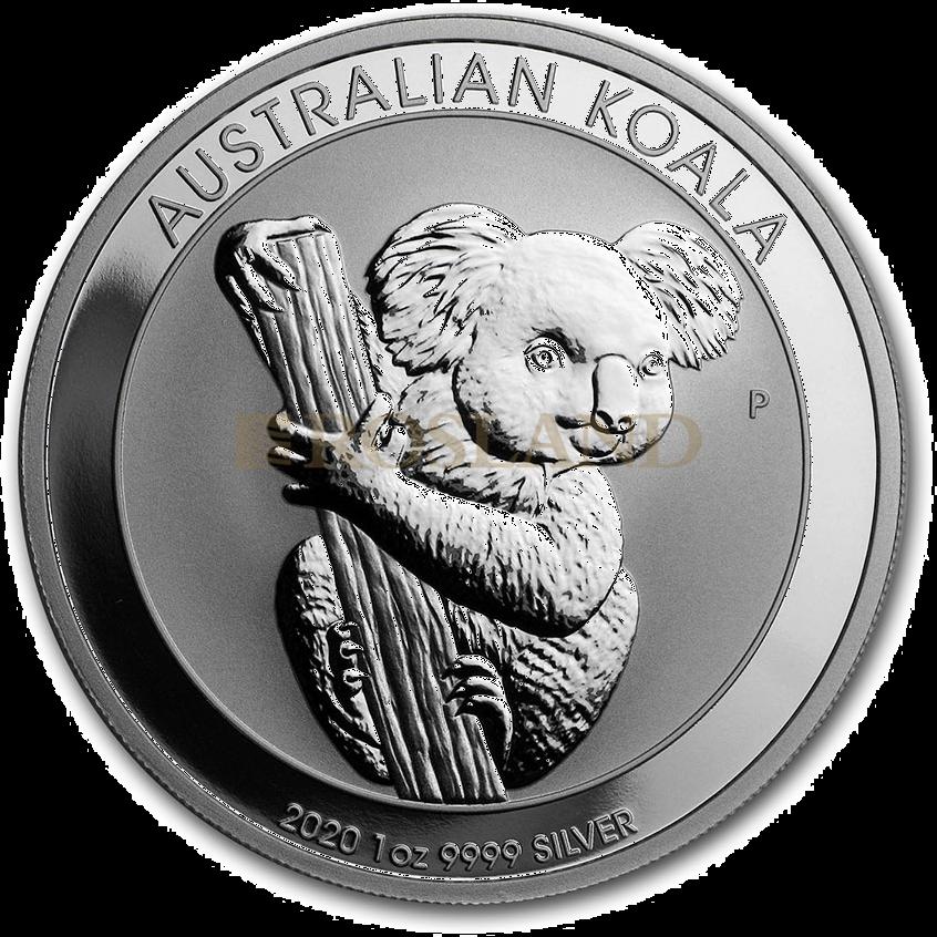 1 Unze Silbermünze Koala 2020