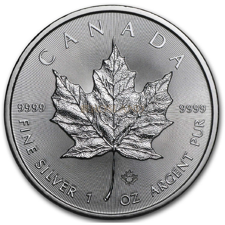 1 Unze Silbermünze Kanada Maple Leaf 2018
