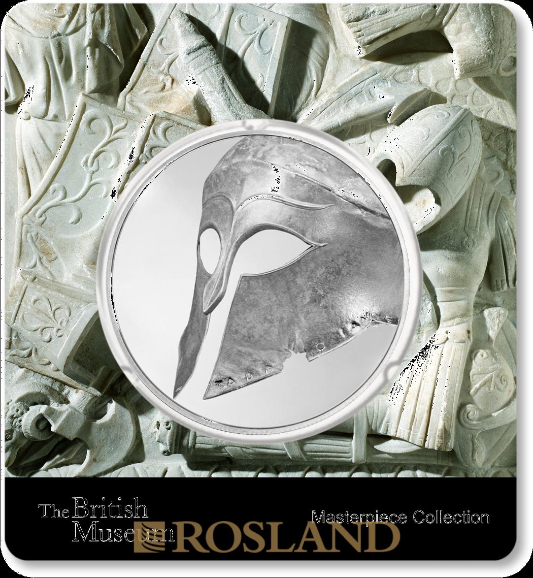 1,5 Unzen Silbermünze PAMP Britisches Museum Gladiator 2018 PP (Box, Zertifikat)