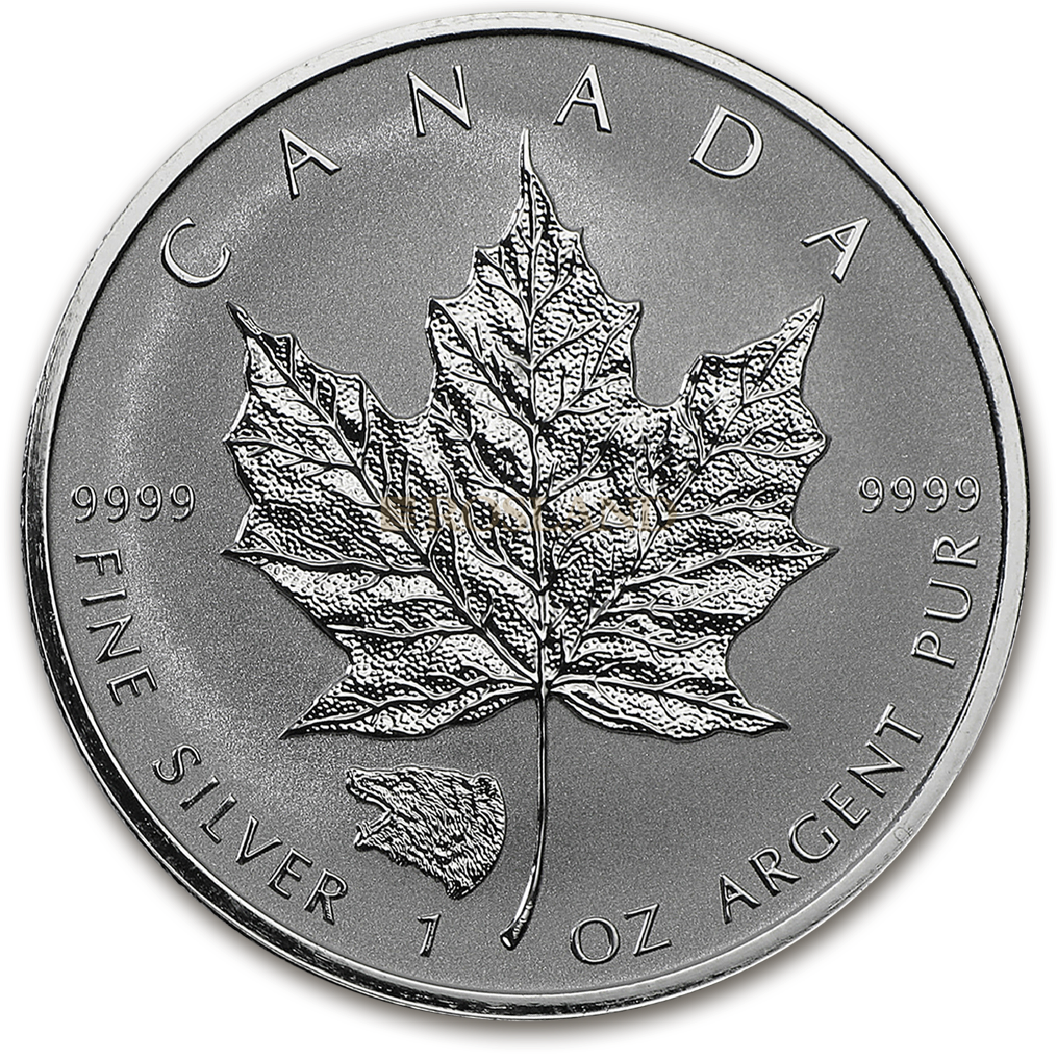 1 Unze Silbermünze Kanada Maple Leaf Grizzly 2016 PP (Reverse Proof)