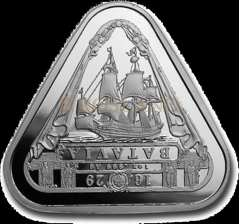 1 Unze Silbermünze RAM Batavia Schiffswrack 2019