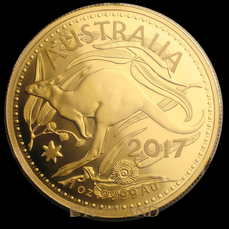 1 Unze Goldmünze RAM Känguru 2017