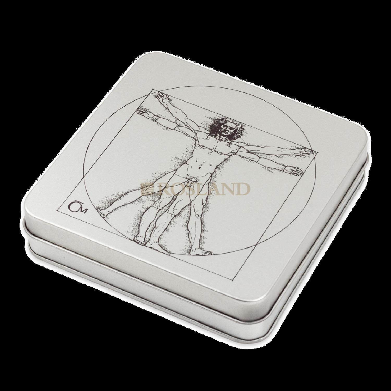 4 Unzen Silbermünzenset Niue 500 Jahre Leonardo Da Vinci 2019 PP (Box, Zertifikat)