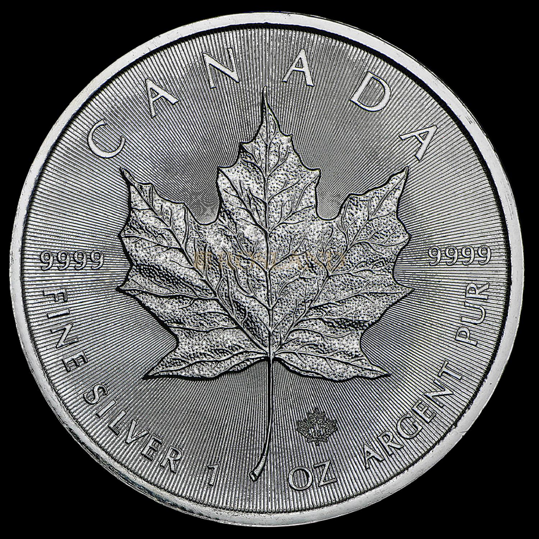 1 Unze Silbermünze Kanada Maple Leaf 2016