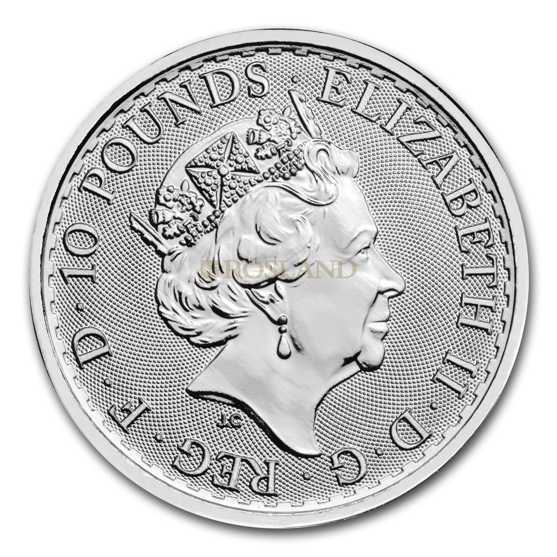 1/10 Unze Platinmünze Britannia 2021