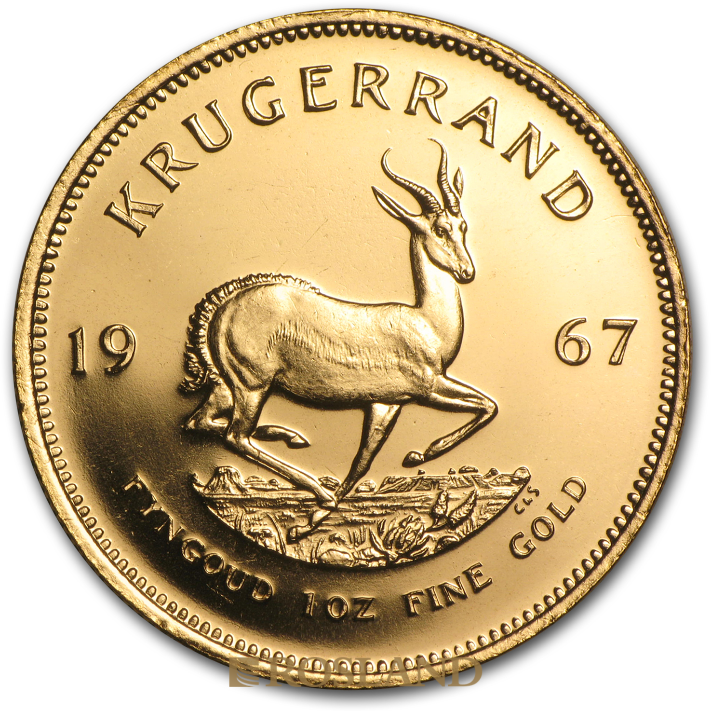 1 Unze Goldmünze Krügerrand 1967