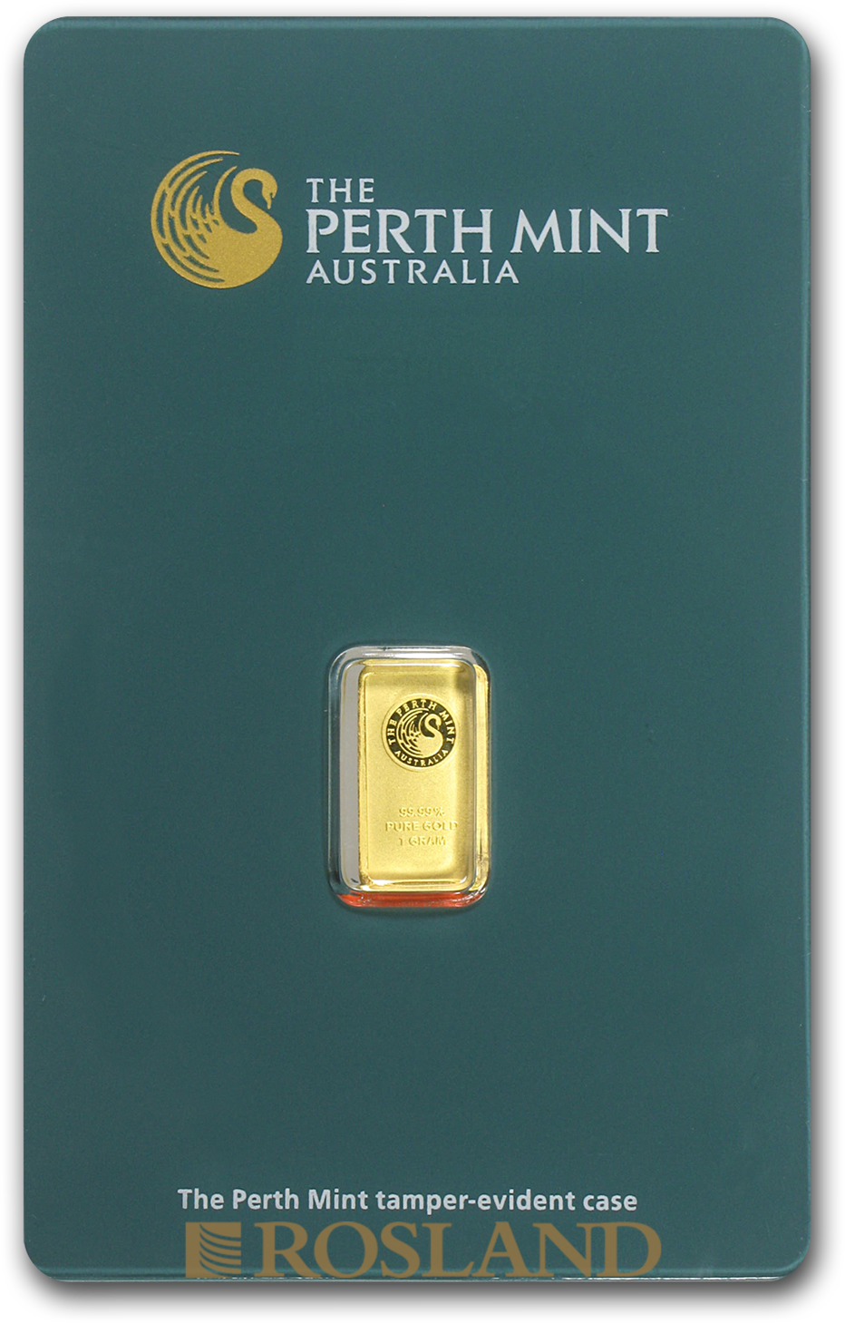 1 Gramm Goldbarren Perth Mint Classic