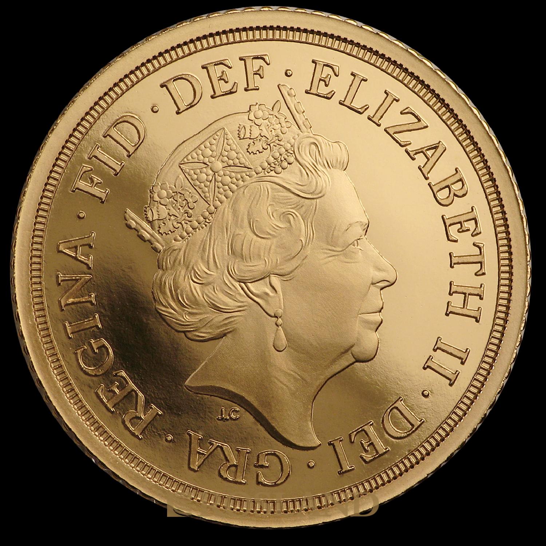 .823 Unzen - 3 Goldmünzen Set Großbritannien 2019 PP (Box, Zertifikat)