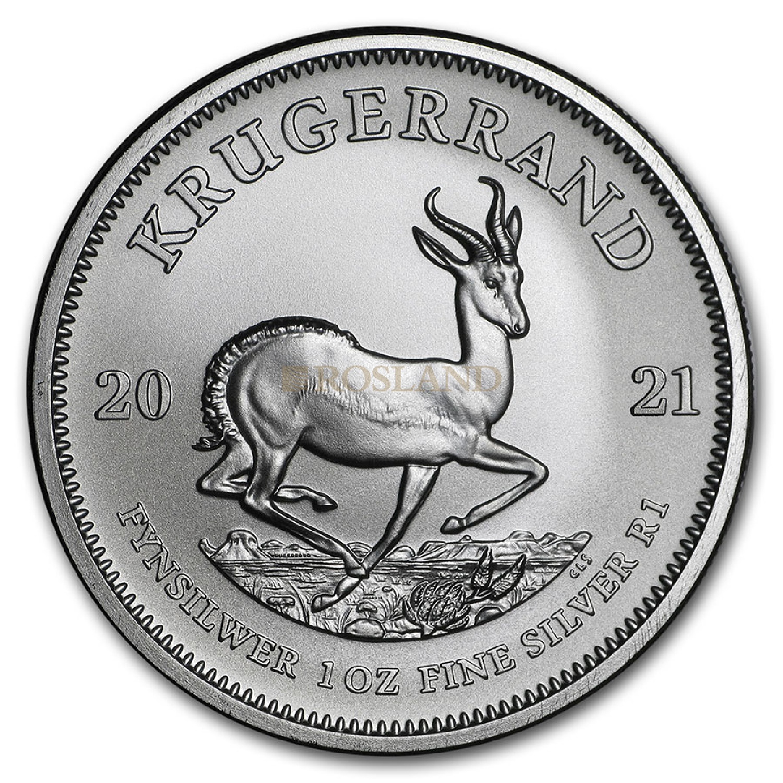 1 Unze Silbermünze Krügerrand 2021