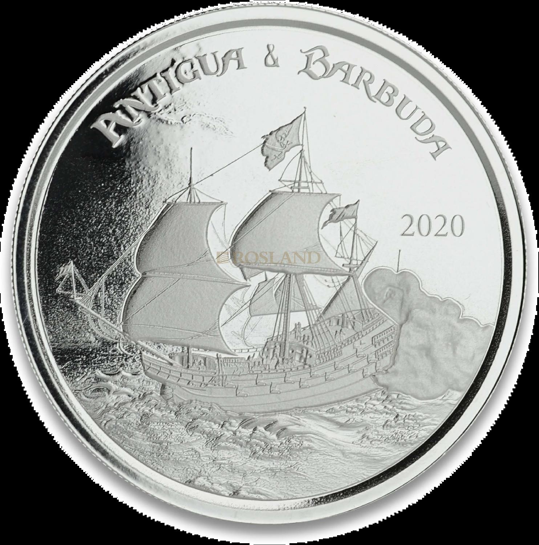 1 Unze Silbermünze EC8 Antigua & Barbuda Rum Runner 2020