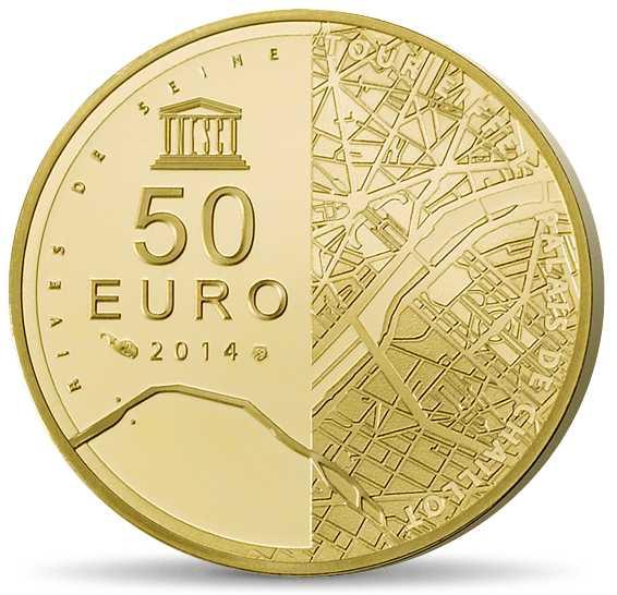 1/4 Unze Goldmünze Eifelturm 2014 50€