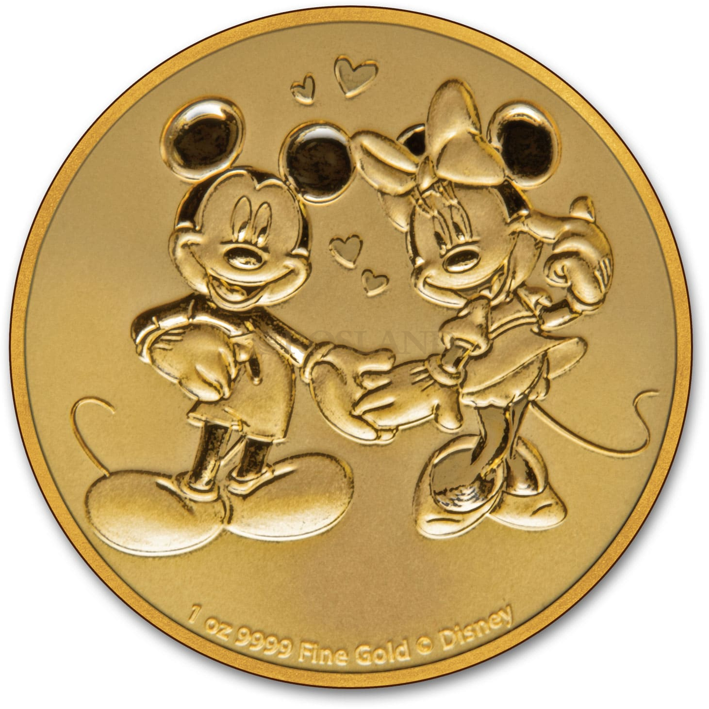 1 Unze Goldmünze Disney® Micky & Minnie Maus 2020