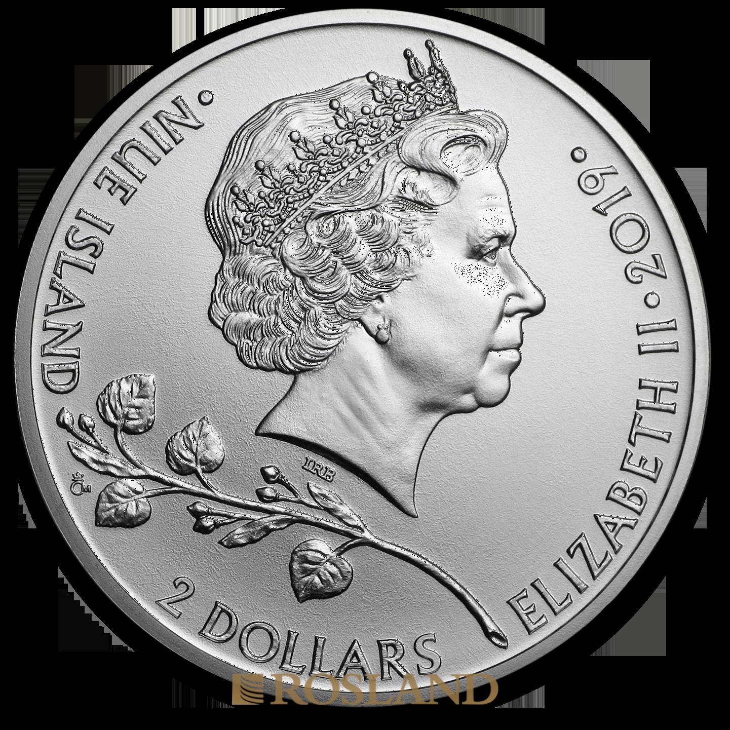 1 Unze Silbermünze Tschechischer Löwe 2019
