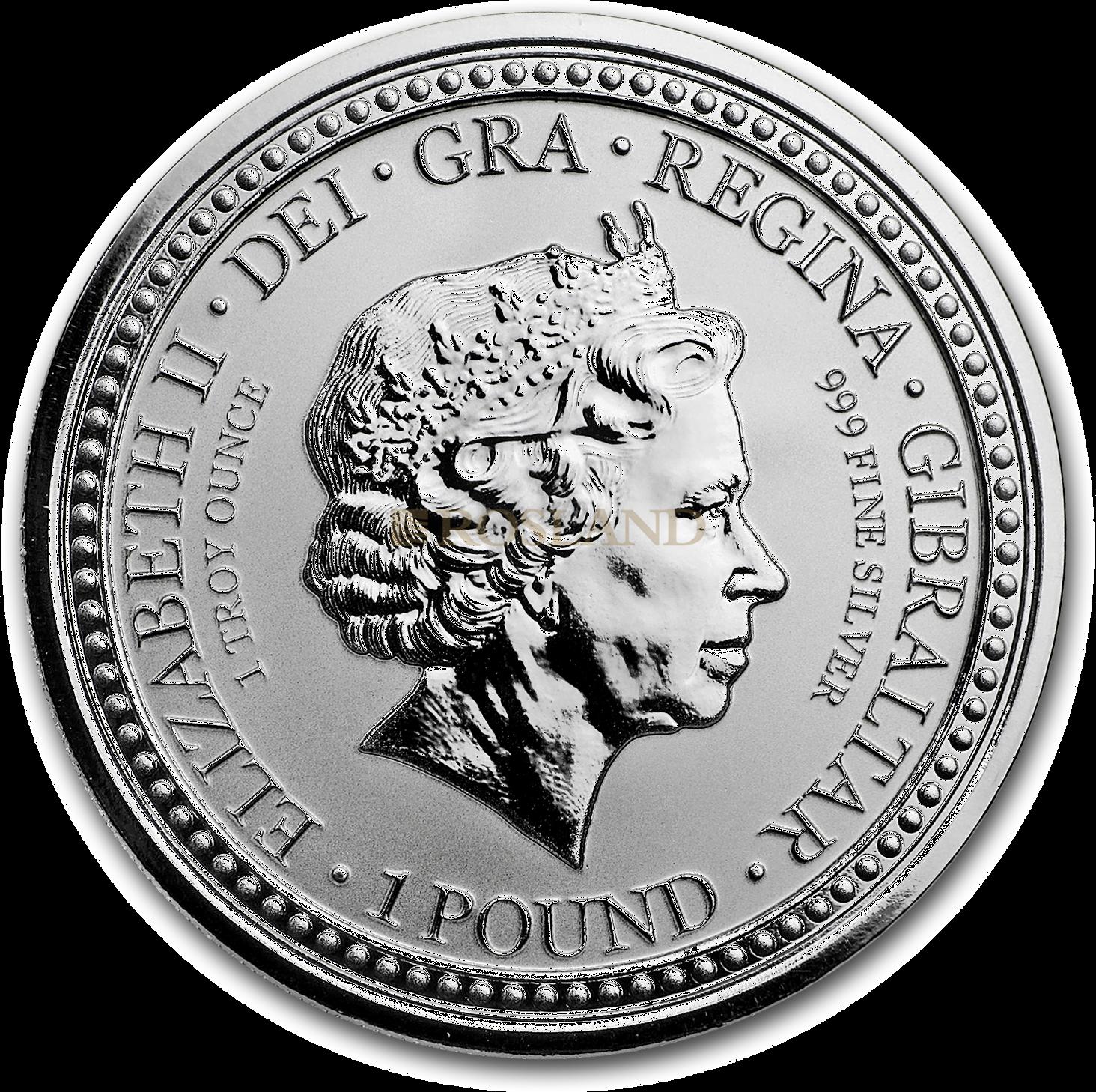 1 Unze Silbermünze Royal Arms of England 2018 PP (Rot, Box, Zertifikat)
