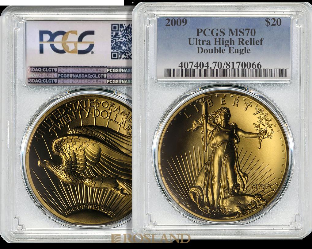 1 Unze Goldmünze American Liberty 2009 PL PCGS MS-70 (UHR)