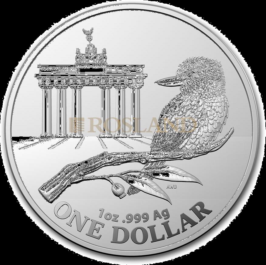 1 Unze Silbermünze RAM Kookaburra Brandenburger Tor 2020
